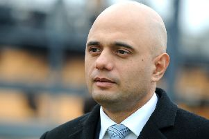 Secretary of state for communities and local government Sajid Javid.