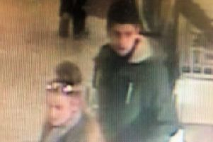 Police would like to identify the man and woman in this image