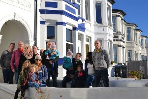 Brighton Road residents oppose the plans for the site opposite their homes