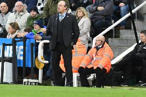 Newcastle boss Rafa Benitez. Picture by Phil Westlake (PW Sporting Photography)