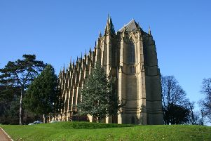 Lancing College Chapel, a Grade I listed building