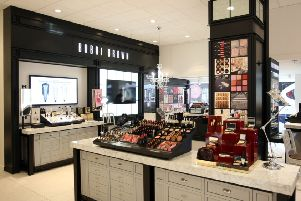 The department store is popular with many, selling a range of items