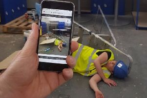 The 'GoodSAM' app also measures multiple patients' pulses through the live stream