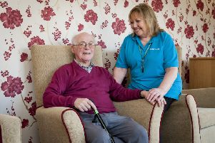 The centre-based care at Dementia Day Breaks includes a manager and three dementia-trained support workers