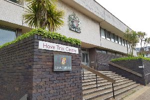 The trial is taking place at Hove Crown Court