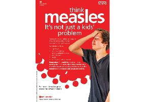 Public Health England is asking students to check they are up to date with meningitis and measles vaccines
