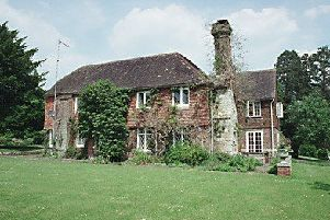 Ewhurst Manor, Shermanbury, is listed as being of historic importance SUS-180211-111925001