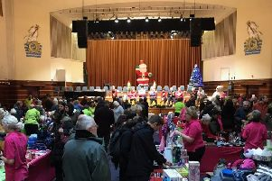 Worthing Mencap Christmas Fayre in the Assembly Hall SUS-181128-103950003