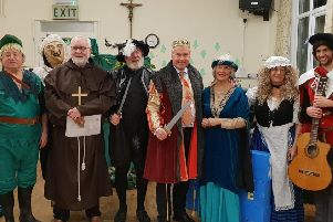 Tim Loughton played King Lancingless in 'The Legend of North Lancing' extravaganza put on by the North Lancing Resident's Association