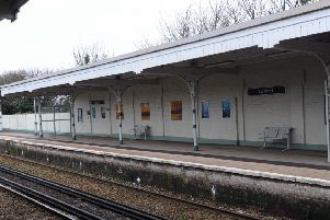 Southwick railway station has been without a defibrillator since last April S03516H13