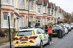 The hand grenade was found at a property in Leighton Road, Hove (Credit: Google Maps)