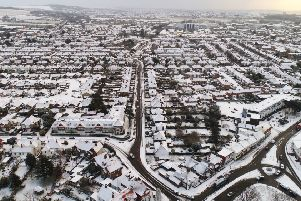 Worthing snow in 2018