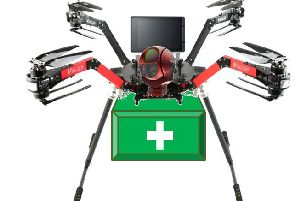 Emma Phillips' paramedic drone design has won a place in the Big Bang UK final