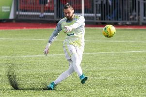 Goalkeeper Lucas Covolan is expected to return for Worthing in the coming weeks. Picture: Derek Martin
