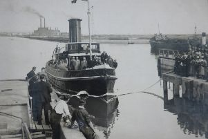 A photo from the Shoreham Port archives