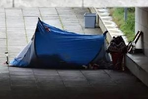 Numbers of people sleeping rough in Worthing are reducing