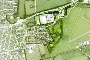 New Monks Farm plans. Photo: Adur District Council