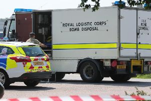Police and a bomb disposal team were called