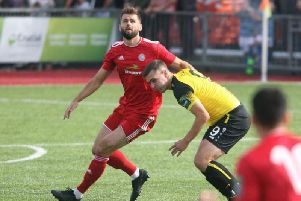 Worthing assistant manager and defender Aarran Racine. Picture by Derek Martin.