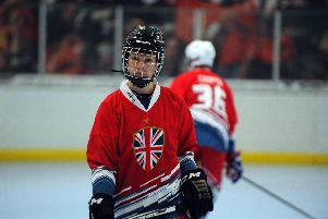 Aston Lacey representing his country. Picture courtesy of Austin Lacey.