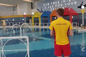 Lifeguard. Picture courtesy of Butlin's Bognor Regis