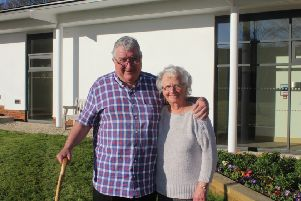 Lancing couple Marlene and Ken Mitchell have taken advantage of the short breaks service