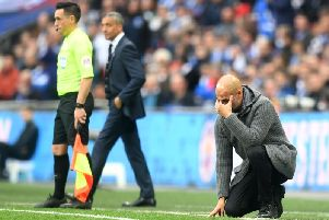 Pep Guardiola. Picture courtesy of Getty Images