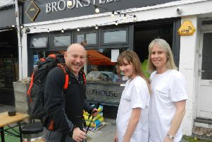 Simon Donlevy with his niece Lucy, who was born with coloboma, and sister-in-law Cara Croke, a trustee of Look Sussex