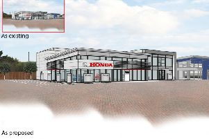 New Honda car dealership planned in Ferring