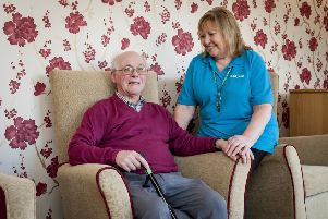Trevor is living with dementia and uses the Bradbury Wellbeing Centre, which he says is a 'very valuable' service