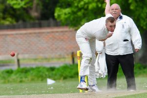 Curtis Howell's unbeaten half-century guided Findon to victory against Broadwater. Picture by Stephen Goodger
