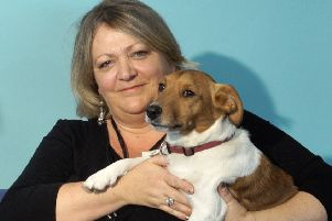 Melissa Moremon and pet Quinn who has now been missing for 10 days SUS-190513-114910001