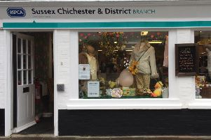 The branch has charity shops in Bognor Regis, Chichester, Worthing and Horsham, and now Littlehampton will be added to the network