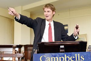 Paul Campbell, of Campbells, in action