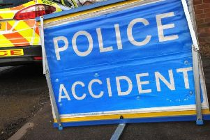 A24 in Horsham blocked following accident