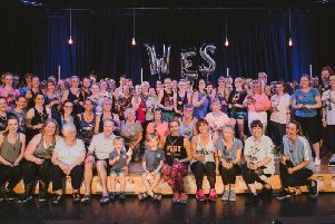 Westley Campbell died suddenly aged 37 on May 8 from heart failure at Worthing Hospital. In her brothers memory, Dani Heppenstall held a fitnessathon at The Littlehampton Academy in Fitzalan Road. Picture: Olivia Judah Photography