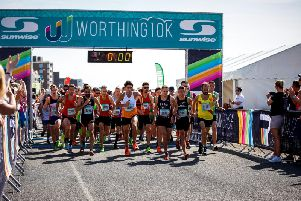 Worthing 10k 2018 race action. Picture by Epic Action Imagery