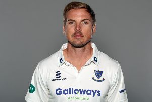 Stiaan van Zyl's big ton led the Sussex charge at Lord's / Picture by Getty Images