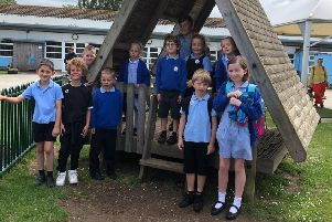 Buckingham Park Primary School pupils are raising money for a new playground SUS-191006-161519001