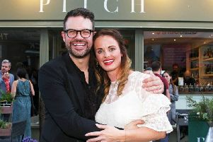 Kenny and Lucy Tutt, co-owners of Pitch