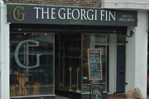 The Georgi Fin. Google Maps