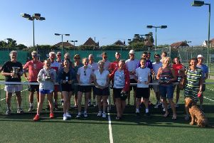 Plenty of trophies were handed out at Angmering's annual club championship