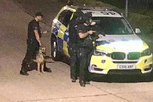 Police in Worthing early this morning