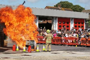 Broadwater Carnival and Worthing Fire Station open day 2019