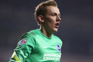 Brighton & Hove Albion's Christian Walton. Picture courtesy of Getty Images