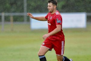 Ollie Pearce netted in Worthing's win over Eastbourne United. Picture by Stephen Goodger