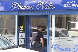Immigration officers raided Phoenix Nails in West Buildings, Worthing