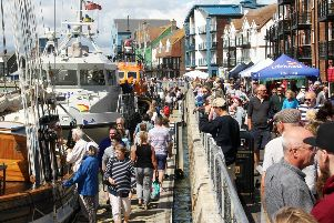 DM1984114a.jpg. Littlehampton RNLI Lifeboat Station open day and Waterfront Festival 2019. Photo by Derek Martin Photography. SUS-190818-230529008