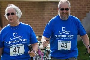 Jean and Rob Mahoney had never done anything like this until they took part last year and are now encouraging others to follow their example