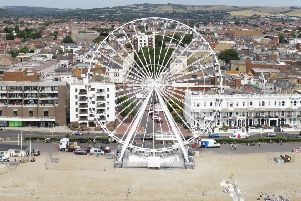 The wheel from the air